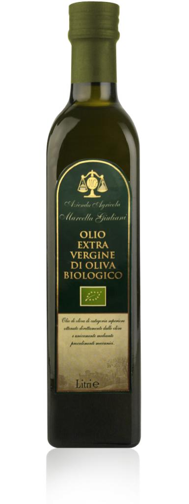 olio extravergine di oliva biologico marcella giuliani agricola